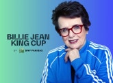 Meet with Billie Jean King, an iconic figure in the battle for gender equality and a tennis legend