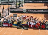 128 employees featured at Roland-Garros!