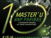 L'élite mondiale du tennis universitaire au Master U BNP Paribas